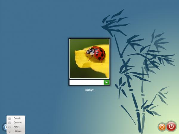 OpenMandriva 2014.1 login