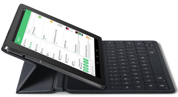 Nexus 9 Tablet magnetic keyboard