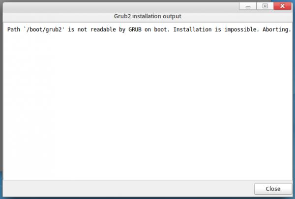 ROSA Desktop GRUB EFI