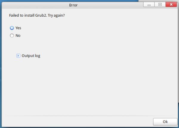ROSA Desktop Fresh R4 GRUB EFI