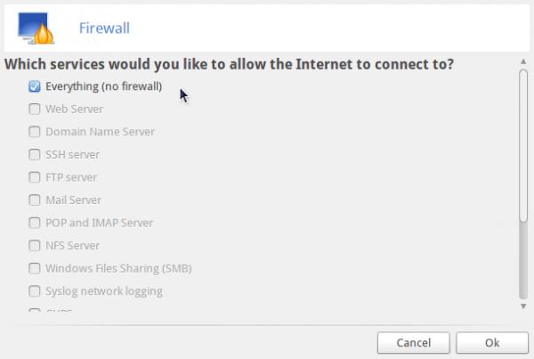 ROSA Desktop Fresh R4 Firewall