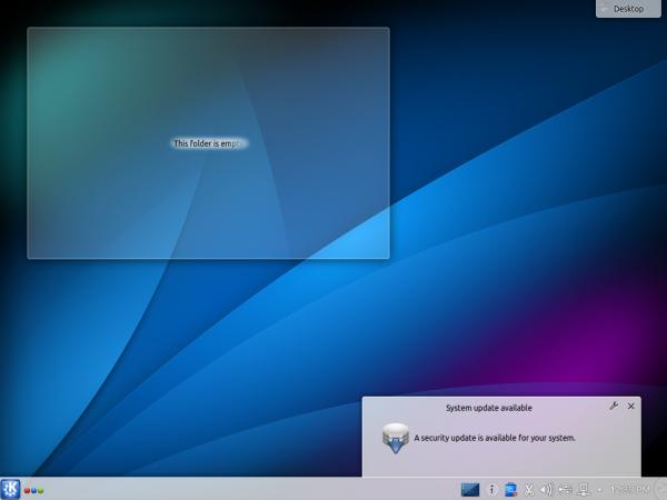 Kubuntu 14.10 Desktop