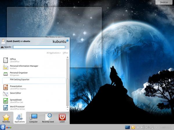 Kubuntu 14.10 LibreOffice