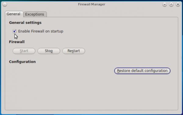 PC-BSD 10.1 firewall