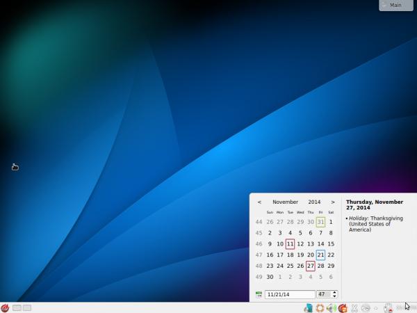 KDE desktop PC-BSD 10.1