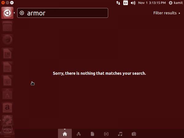 Ubuntu 14.10 Dash online search
