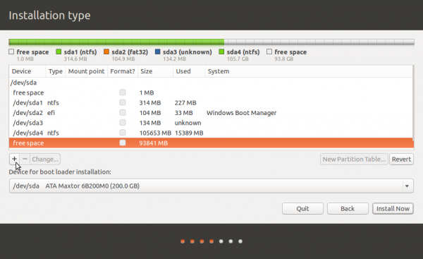 GPT partitions in Ubuntu
