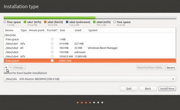 GPT partitions in Ubuntu