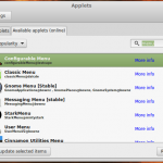 Configurable Menu: Install the best menu for Linux Mint 17/17.1 Cinnamon