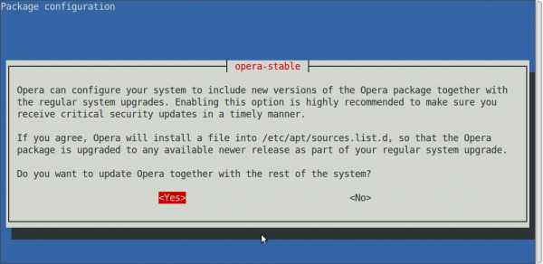 Opera 26 released. Install it on Linux Mint 17.1 and Ubuntu 14.10