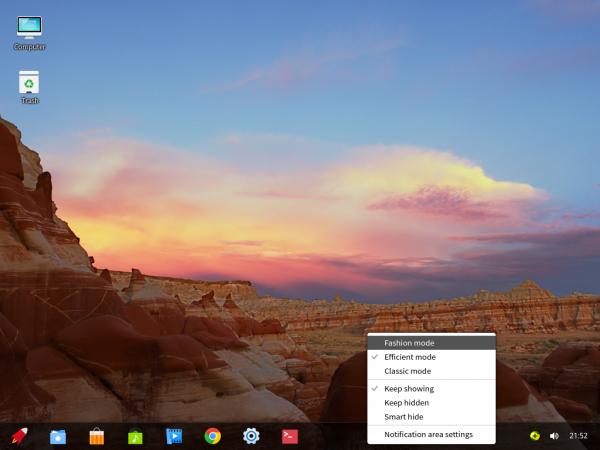 Deepin 2014.2 desktop
