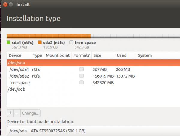 Ubuntu 14.10 installer
