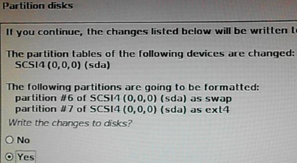 Kali Linux format partitions