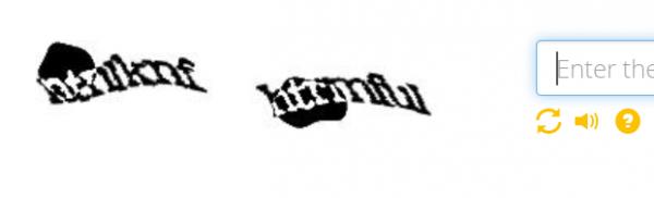reCAPTCHA difficult to read