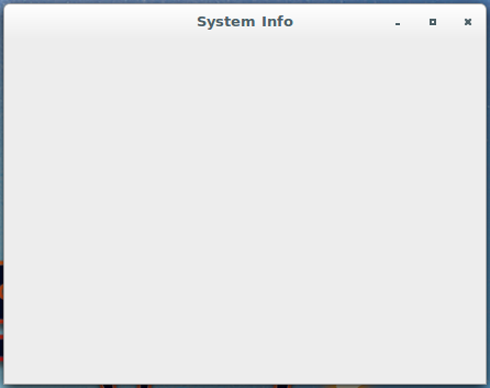 Figure : System Info module of Cinnamon System Settings on PC-BSD 10.1.1