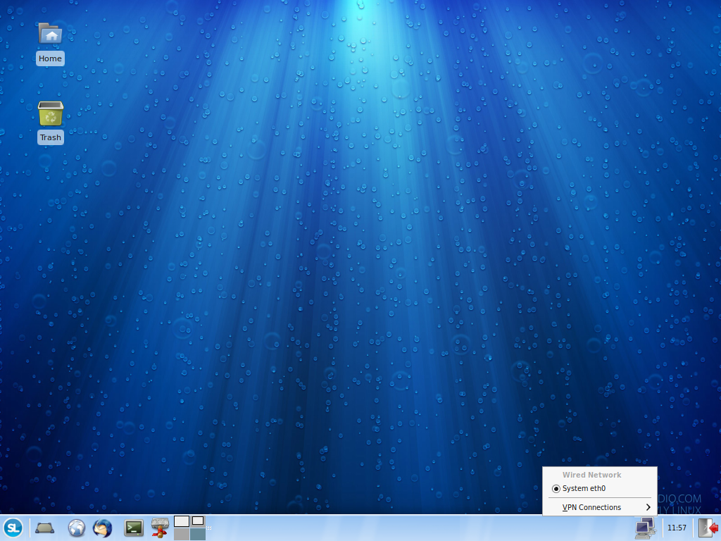 Simple Linux desktop