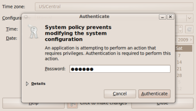 Authenticating